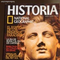 Collezionismo di National Geographic: HISTORIA NATIONAL GEOGRAPHIC Nº 10. FARAONES.ROMA Y CARTAGO.BABILONIA. VERSALLES ALEJANDRO MAGNO.. Lote 207479533