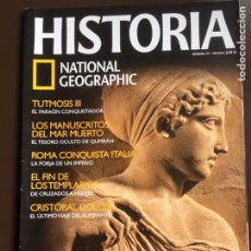 Collezionismo di National Geographic: HISTORIA NATIONAL GEOGRAPHIC Nº 29. EL PARTENÓN.CRISTOBAL COLÓN. TEMPLARIOS. ROMA. TUTMOSIS III.. Lote 207613348