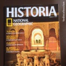 Coleccionismo de National Geographic: HISTORIA NATIONAL GEOGRAPHIC Nº 69.LA ALHAMBRA.EL IMPERIO DE LOS ZARES.CLAUDIO.TUTMOSIS III.ESPARTA. Lote 207736295