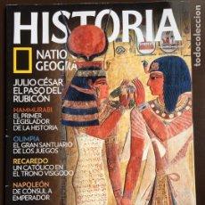 Collezionismo di National Geographic: HISTORIA NATIONAL GEOGRAPHIC Nº 85.EL VALLE DE LOS REYES.HAMMURABI.OLIMPIA.RECAREDO.NAPOLEÓN.. Lote 207794446
