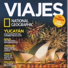Coleccionismo de National Geographic: REVISTA VIAJES DE NATIONAL GEOGRAPHIC. Lote 207797488