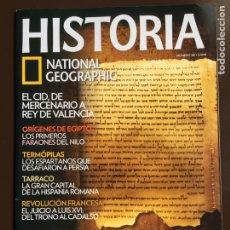 Collezionismo di National Geographic: HISTORIA NATIONAL GEOGRAPHIC Nº 88.LOS MANUSCRITOS DEL MAR MUERTO.TARRACO.TERMÓPILAS EL CID.. Lote 207798460