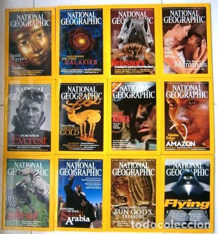 12 REVISTAS NATIONAL GEOGRAPHIC (AÑO 2003 COMPLETO) EDICIÓN ORIGINAL NORTEAMERICANA EN INGLÉS (Coleccionismo - Revistas y Periódicos Modernos (a partir de 1.940) - Revista National Geographic)