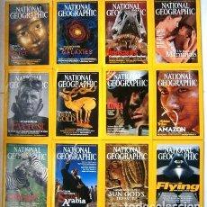 Coleccionismo de National Geographic: 12 REVISTAS NATIONAL GEOGRAPHIC (AÑO 2003 COMPLETO) EDICIÓN ORIGINAL NORTEAMERICANA EN INGLÉS. Lote 207876093
