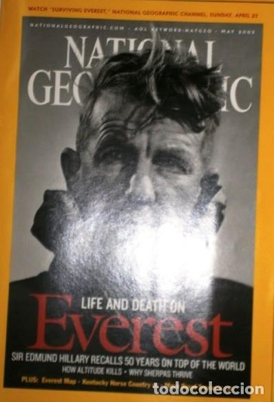 Coleccionismo de National Geographic: 12 Revistas National Geographic (Año 2003 completo) Edición original norteamericana en inglés - Foto 5 - 207876093