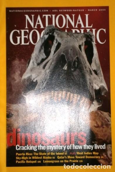 Coleccionismo de National Geographic: 12 Revistas National Geographic (Año 2003 completo) Edición original norteamericana en inglés - Foto 7 - 207876093