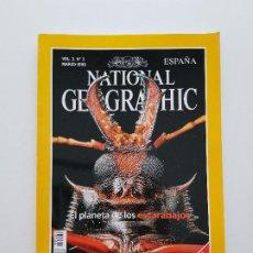 Coleccionismo de National Geographic: NATIONAL GEOGRAPHIC MARZO 1998 EL PLANETA DE LOS ESCARABAJOS VOL. 2, Nº 3. Lote 207910827