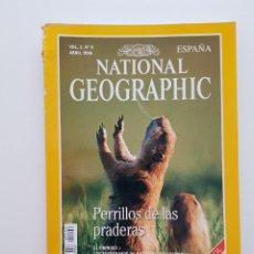 Coleccionismo de National Geographic: NATIONAL GEOGRAPHIC ABRIL 1998 PERRILLOS DE LA PRADERAS VOL. 2, Nº 4. Lote 207911076