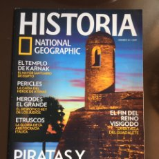 Coleccionismo de National Geographic: HISTORIA NATIONAL GEOGRAPHIC Nº 101.PIRATAS Y CORSARIOS.ETRUSCOS.HERODES EL GRANDE.PERICLES.. Lote 207966546