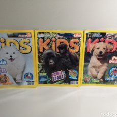 Coleccionismo de National Geographic: LOTE DE REVISTAS DE NATIONAL GEOGRAPHIC KIDS N° 56,47,49. Lote 209867110