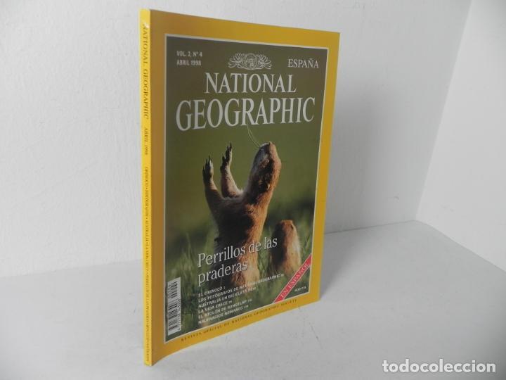 REVISTA NATIONAL GEOGRAPHIC VOL. 2 Nº4 ABRIL 1998 (PERRILLO DE LAS PRADERAS) (Coleccionismo - Revistas y Periódicos Modernos (a partir de 1.940) - Revista National Geographic)