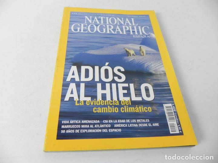 Coleccionismo de National Geographic: REVISTA NATIONAL GEOGRAPHIC OCTUBRE 2007(ADIÓS AL HIELO) - Foto 2 - 210118307
