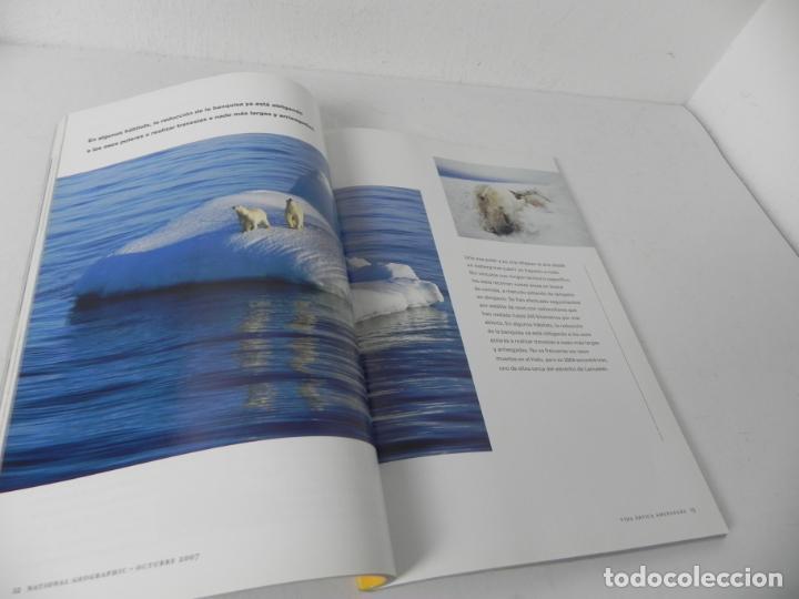 Coleccionismo de National Geographic: REVISTA NATIONAL GEOGRAPHIC OCTUBRE 2007(ADIÓS AL HIELO) - Foto 3 - 210118307