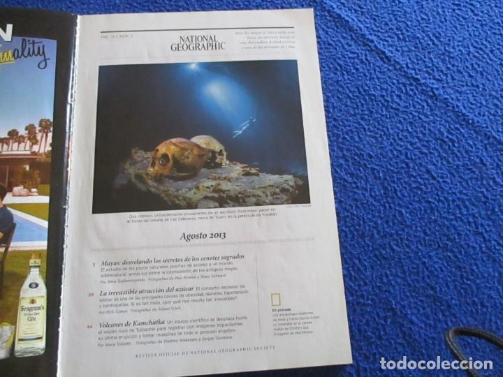 Coleccionismo de National Geographic: Revista National Geographic Agosto 2013 MAYAS Revelando los secretos de los Cenotes Sagrados - Foto 2 - 210166555