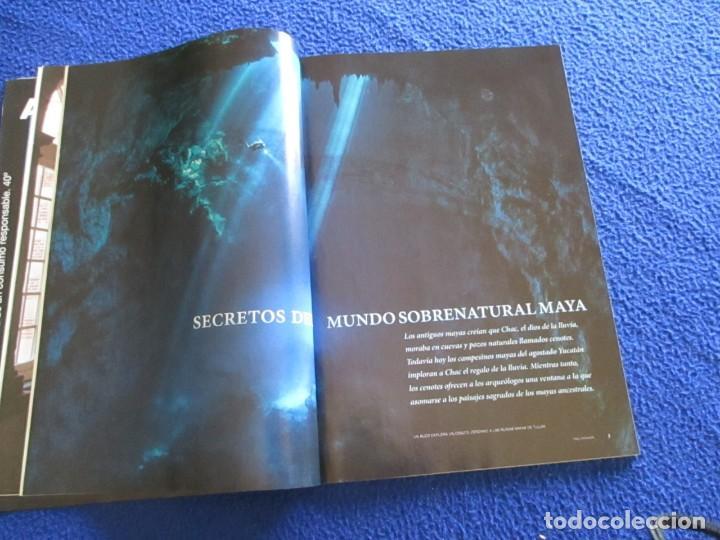 Coleccionismo de National Geographic: Revista National Geographic Agosto 2013 MAYAS Revelando los secretos de los Cenotes Sagrados - Foto 4 - 210166555