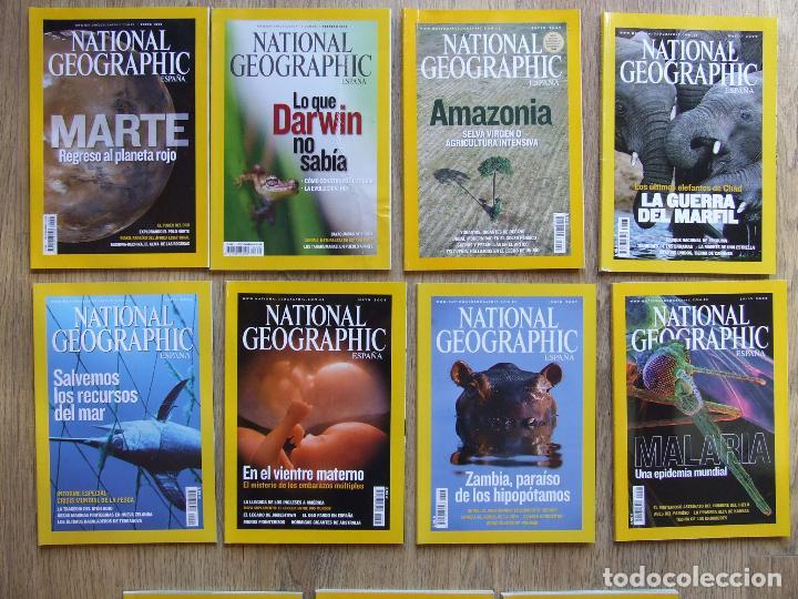 Coleccionismo de National Geographic: LOTE 13 REVISTAS NATIONAL GEOGRAPHIC ESPAÑA AÑOS 2007 Y 2009 - Foto 2 - 210198875