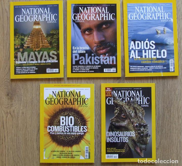 Coleccionismo de National Geographic: LOTE 13 REVISTAS NATIONAL GEOGRAPHIC ESPAÑA AÑOS 2007 Y 2009 - Foto 3 - 210198875