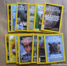 Coleccionismo de National Geographic: LOTE 13 REVISTAS NATIONAL GEOGRAPHIC ESPAÑA AÑOS 2007 Y 2009. Lote 210198875