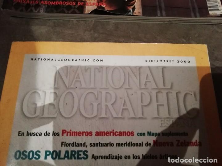 Coleccionismo de National Geographic: Lote 4 revistas National Geographic - Viajes Póster - Millenium - Póster mapa gran Bretaña e Irlanda - Foto 3 - 210371645