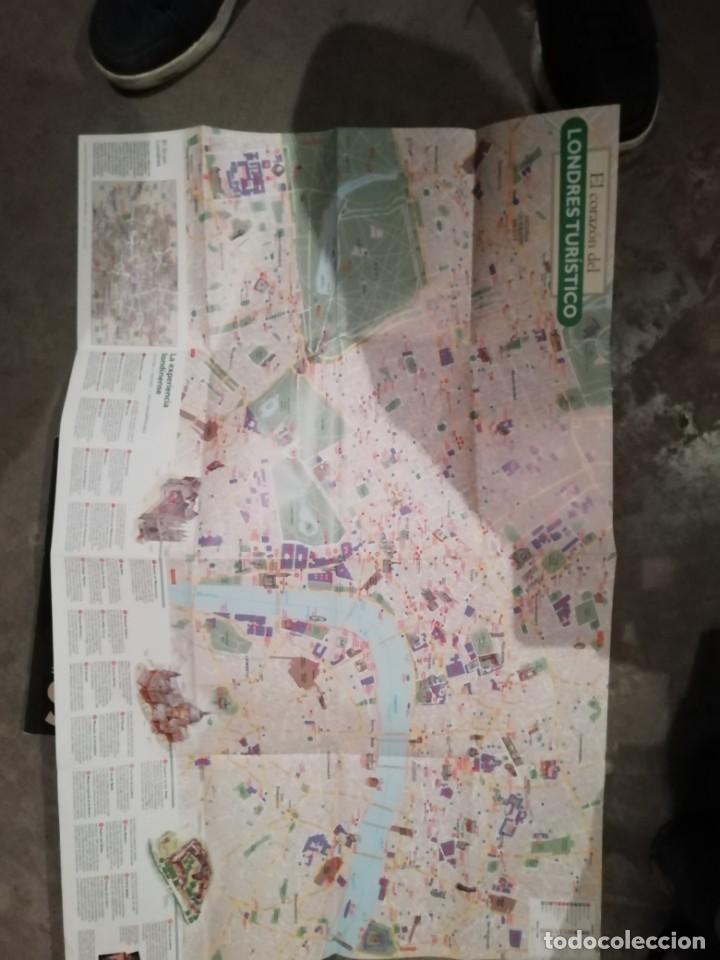 Coleccionismo de National Geographic: Lote 4 revistas National Geographic - Viajes Póster - Millenium - Póster mapa gran Bretaña e Irlanda - Foto 12 - 210371645