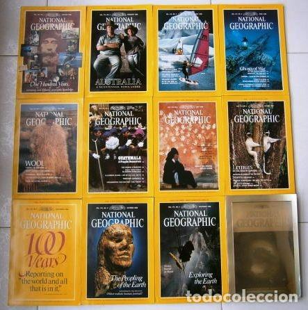 12 REVISTAS NATIONAL GEOGRAPHIC (AÑO 1988 COMPLETO) EDICIÓN ORIGINAL NORTEAMERICANA EN INGLÉS (Coleccionismo - Revistas y Periódicos Modernos (a partir de 1.940) - Revista National Geographic)