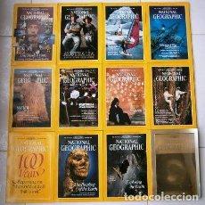 Coleccionismo de National Geographic: 12 REVISTAS NATIONAL GEOGRAPHIC (AÑO 1988 COMPLETO) EDICIÓN ORIGINAL NORTEAMERICANA EN INGLÉS. Lote 211658740