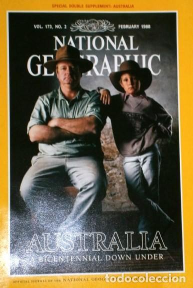 Coleccionismo de National Geographic: 12 Revistas National Geographic (Año 1988 completo) Edición original norteamericana en inglés - Foto 2 - 211658740