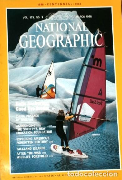Coleccionismo de National Geographic: 12 Revistas National Geographic (Año 1988 completo) Edición original norteamericana en inglés - Foto 3 - 211658740