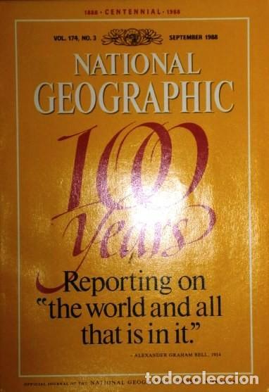 Coleccionismo de National Geographic: 12 Revistas National Geographic (Año 1988 completo) Edición original norteamericana en inglés - Foto 6 - 211658740
