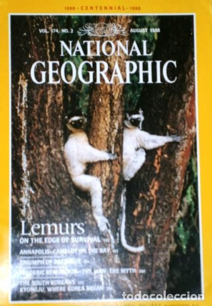 Coleccionismo de National Geographic: 12 Revistas National Geographic (Año 1988 completo) Edición original norteamericana en inglés - Foto 7 - 211658740