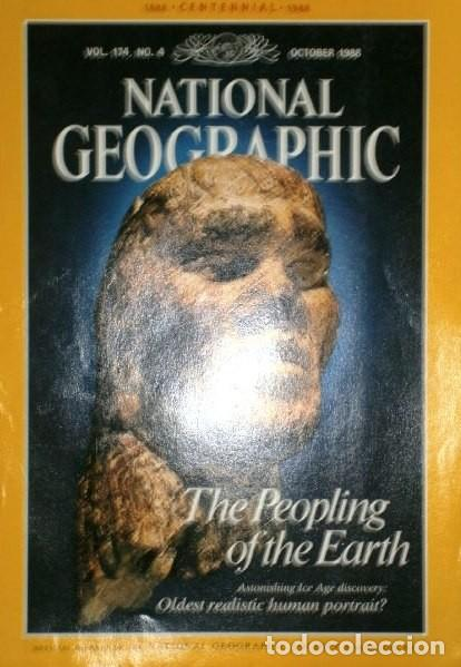 Coleccionismo de National Geographic: 12 Revistas National Geographic (Año 1988 completo) Edición original norteamericana en inglés - Foto 8 - 211658740