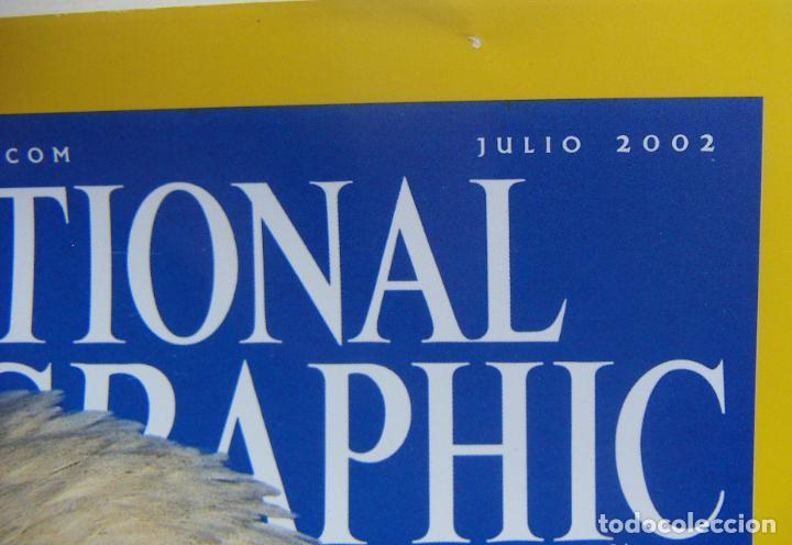 Coleccionismo de National Geographic: National Geographic Julio 2002 - Foto 2 - 211975150