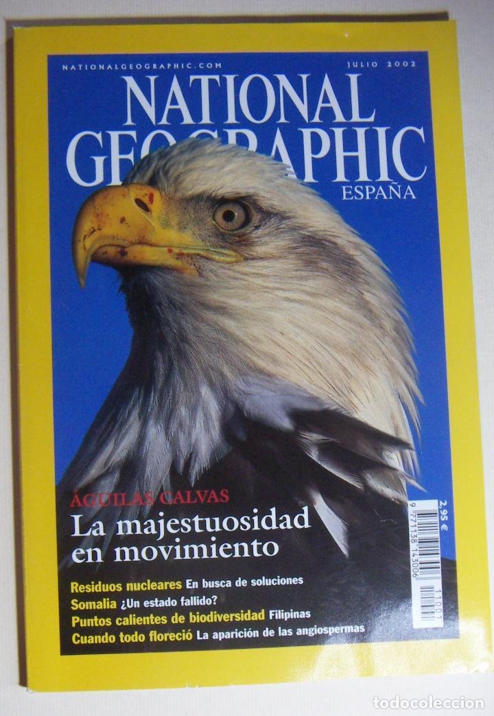 NATIONAL GEOGRAPHIC JULIO 2002 (Coleccionismo - Revistas y Periódicos Modernos (a partir de 1.940) - Revista National Geographic)