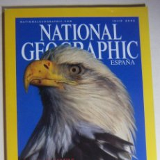 Coleccionismo de National Geographic: NATIONAL GEOGRAPHIC JULIO 2002. Lote 211975150
