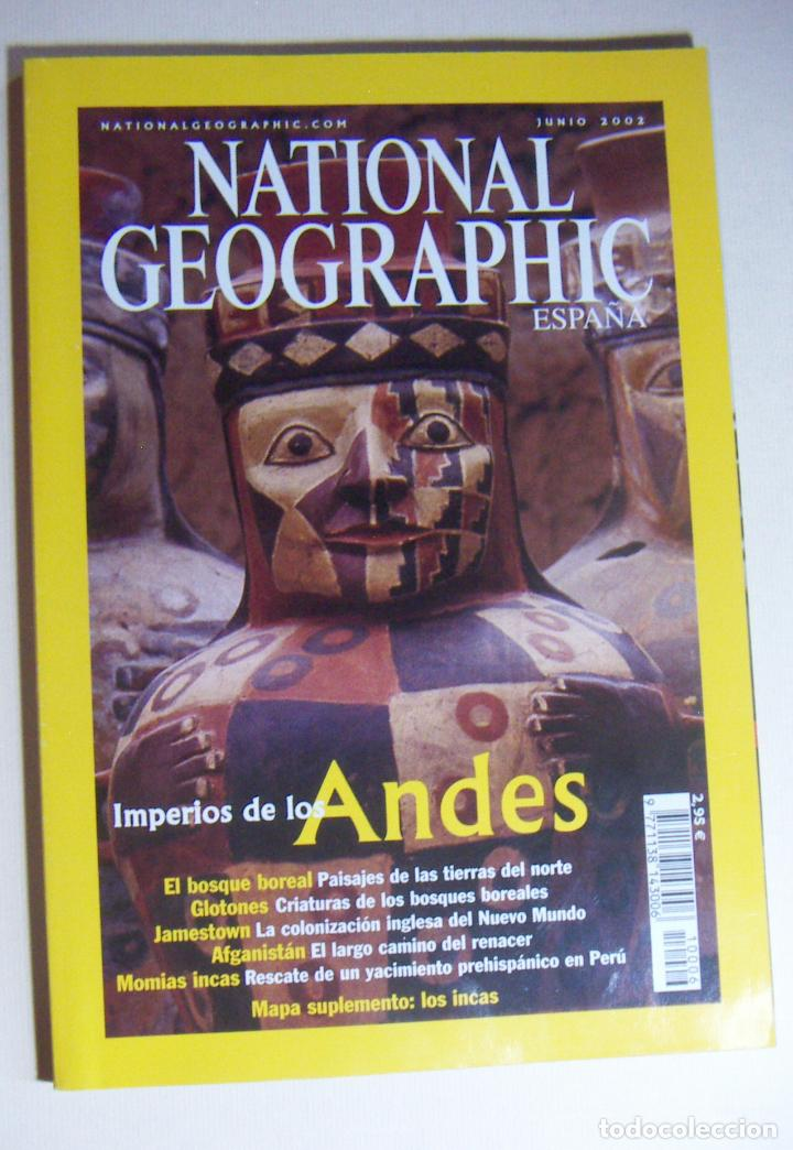 Coleccionismo de National Geographic: National Geographic Junio 2002 - Foto 1 - 211975237