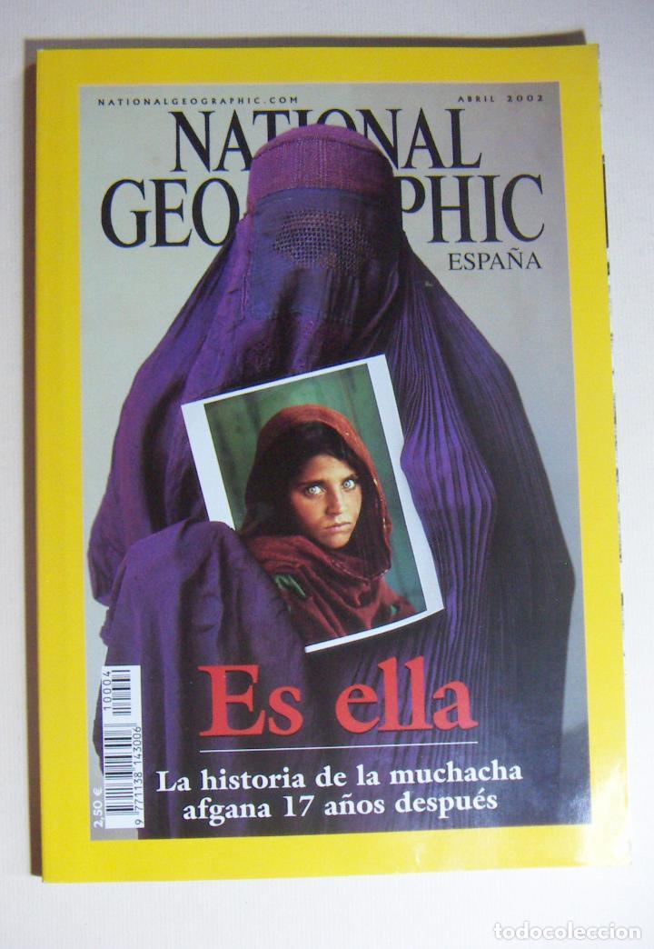NATIONAL GEOGRAPHIC ABRIL 2002 (Coleccionismo - Revistas y Periódicos Modernos (a partir de 1.940) - Revista National Geographic)