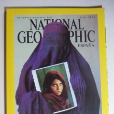 Coleccionismo de National Geographic: NATIONAL GEOGRAPHIC ABRIL 2002. Lote 211975916