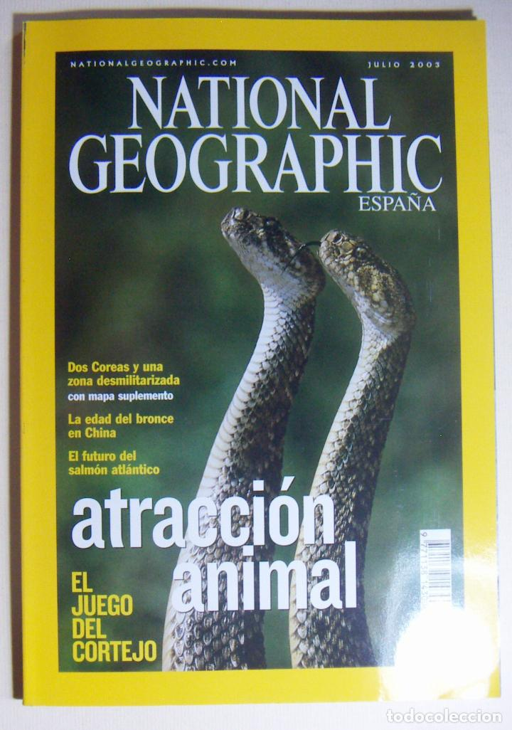 NATIONAL GEOGRAPHIC JULIO 2003 (Coleccionismo - Revistas y Periódicos Modernos (a partir de 1.940) - Revista National Geographic)