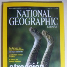 Coleccionismo de National Geographic: NATIONAL GEOGRAPHIC JULIO 2003. Lote 211976417