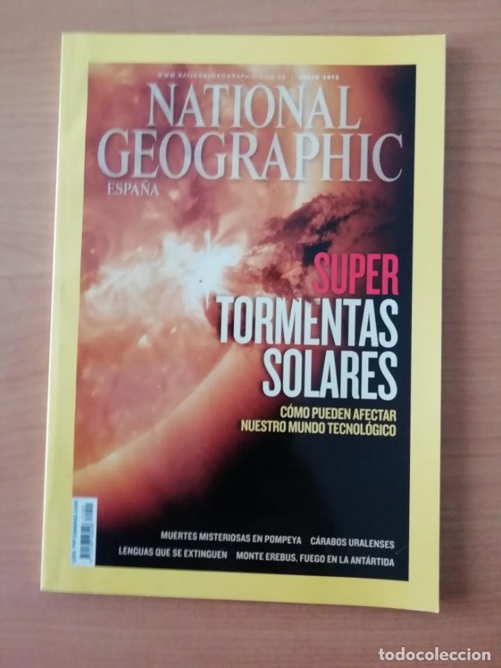 NATIONAL GEOGRAPHIC. JULIO 2012 (Coleccionismo - Revistas y Periódicos Modernos (a partir de 1.940) - Revista National Geographic)