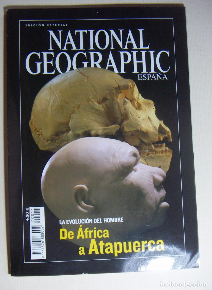 NATIONAL GEOGRAPHIC EDICION ESPECIAL - DE AFRICA A ATAPUERCA (Coleccionismo - Revistas y Periódicos Modernos (a partir de 1.940) - Revista National Geographic)