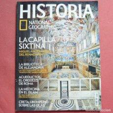 Collezionismo di National Geographic: HISTORIA NATIONAL GEOGRAPHIC - Nº 130 - LA CAPILLA SIXTINA - BIBLIOTECA DE ALEJANDRIA - ACUEDUCTOS. Lote 212073815
