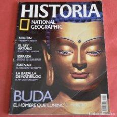 Collezionismo di National Geographic: HISTORIA NATIONAL GEOGRAPHIC - Nº 5 - BUDA - NERON - EL REY ARTURO - LA BATALLA DE WATERLOO. Lote 212091556