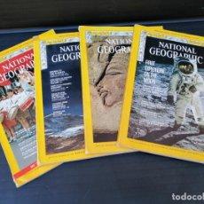 Coleccionismo de National Geographic: LOTE DE CUATRO EJEMPLARES NATIONAL GEOGRAPHIC -EN INGLÉS. Lote 212807120