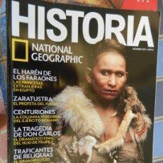 Collectionnisme de National Geographic: REVISTA HISTORIA - NATIONAL GEOGRAPHIC - Nº 163 - HOMO SAPIENS, ZARATRUSTA, EL HARÉN DE LOS FARAONES. Lote 213726646