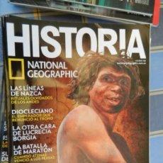 Collezionismo di National Geographic: REVISTA HISTORIA - NATIONAL GEOGRAPHIC - Nº 186 - ATAPUERCA, LAS LÍNEAS DE NAZCA, JEROGLÍFICOS.... Lote 213727456