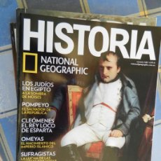 Collectionnisme de National Geographic: REVISTA HISTORIA - NATIONAL GEOGRAPHIC - Nº 168 - NAPOLEÓN, POMPEYO, OMEYAS, SUFRAGISTAS .... Lote 213728987