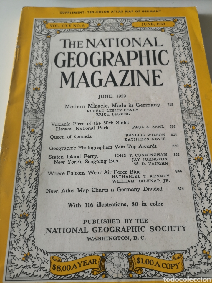 Coleccionismo de National Geographic: THE NATIONAL GEOGRAPHIC MAGAZINE / JUNE 1959 - Foto 1 - 214411656