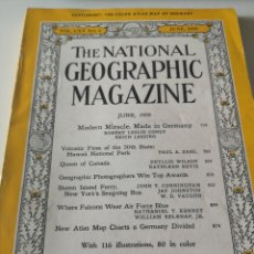 Coleccionismo de National Geographic: THE NATIONAL GEOGRAPHIC MAGAZINE / JUNE 1959. Lote 214411656