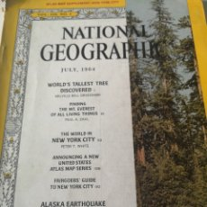 Coleccionismo de National Geographic: THE NATIONAL GEOGRAPHIC MAGAZINE / JULY 1964. Lote 214411740